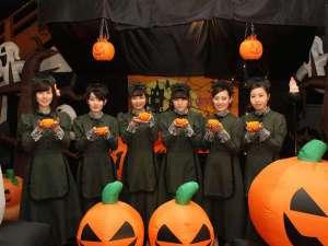 ハロウィンは秋グラで楽しもう♪「かぼちゃの重さ当てコンテスト」開催中!